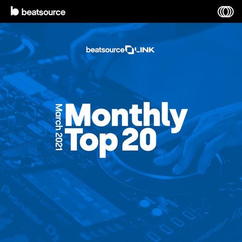 Monthly Top 20 - March 2021 Album Art