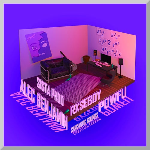 Eyes Blue Like The Atlantic, Pt. 2 (feat. Powfu, Alec Benjamin & Rxseboy)