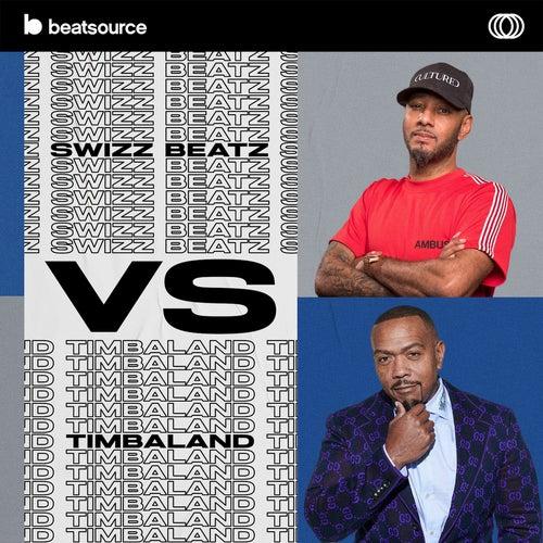 Swizz Beatz vs. Timbaland Album Art