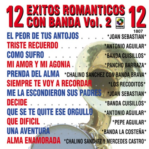 12 Éxitos Románticos Con Banda, Vol. 2
