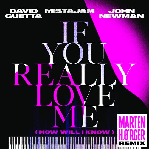 If You Really Love Me (How Will I Know) [Marten Hørger Remix]