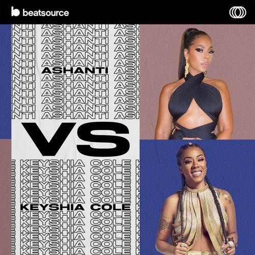 Ashanti vs Keyshia Cole Album Art