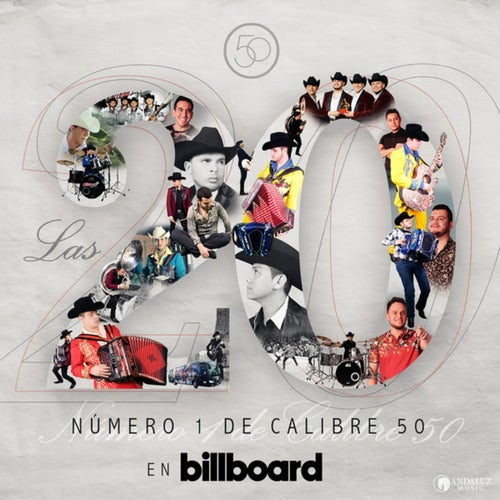 Las 20 Número 1 De Calibre 50 En Billboard