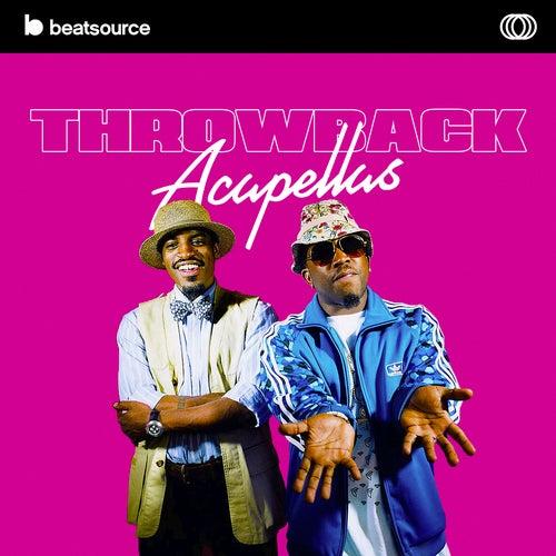 Throwback Acapellas Album Art