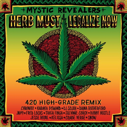 Herb Must Legalize Now (feat. Chronixx, Kabaka Pyramid, DJ Sojah, Diana Rutherford, Jah9, Fred Locks, Triga Finga, Suzanne Couch, Bobby Hustle, Jesse Royal, Kelissa, Cidade Verde and Snow)