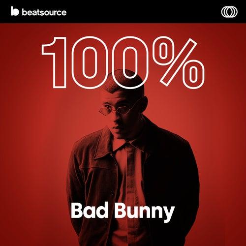100% Bad Bunny Album Art