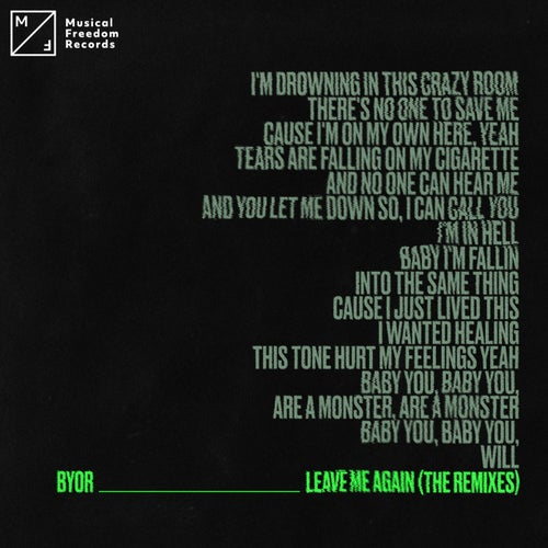 Leave Me Again (The Remixes)