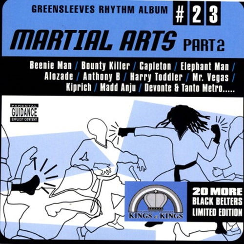 Greensleeves Rhythm Album #23: Martial Arts Part 2