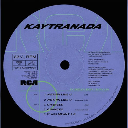 KAYTRANADA/RCA Records Profile