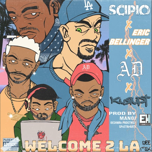 Welcome 2 LA (GEE Remix) [feat. Eric Bellinger]