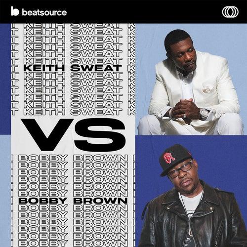 Keith Sweat vs. Bobby Brown Album Art