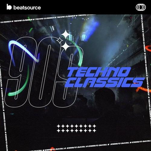 90s Techno Classics Album Art