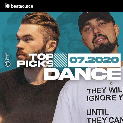 Dance Top Tracks July 2020 Album Art