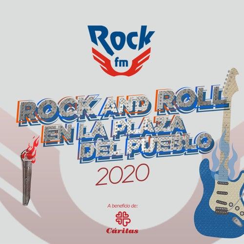 Rock And Roll en la plaza del pueblo