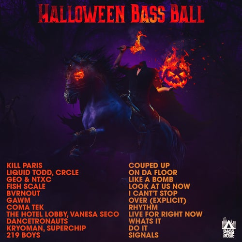 Halloween Bass Ball
