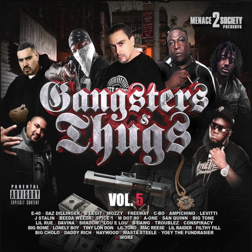 Menace 2 Society Presents: Gangsters & Thugs, Vol. 5