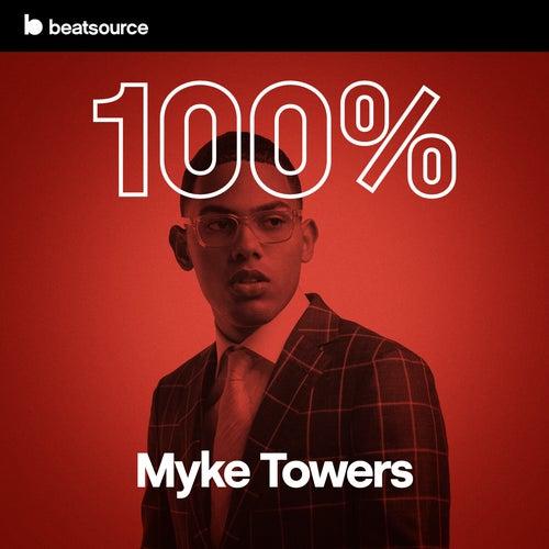 100% Myke Towers Album Art