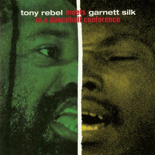 Tony Rebel Meets Garnett Silk In A Dancehall Conference