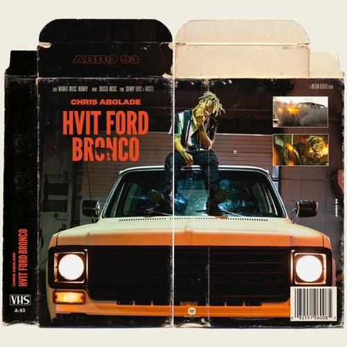 Hvit Ford Bronco