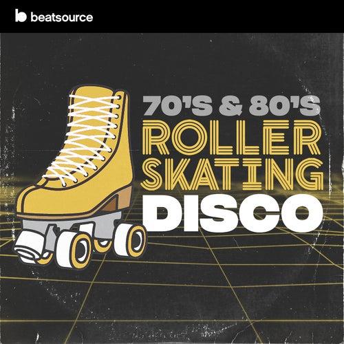 70s & 80s Roller Skating Disco Album Art