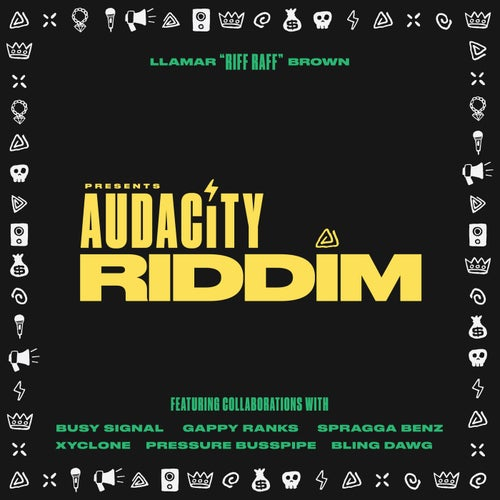 Audacity Riddim