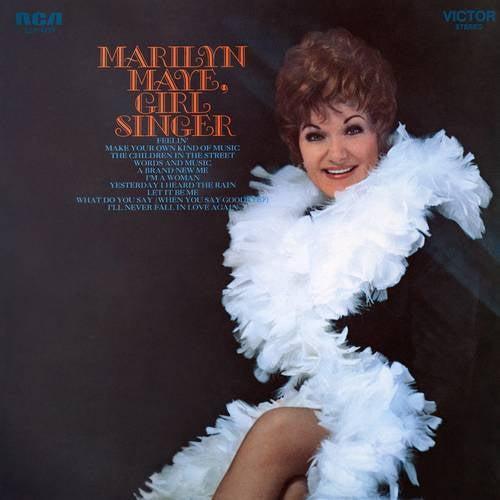 Marilyn Maye, Girl Singer