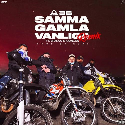 Samma gamla vanliga (feat. Branco & Kamelen) [Remix]