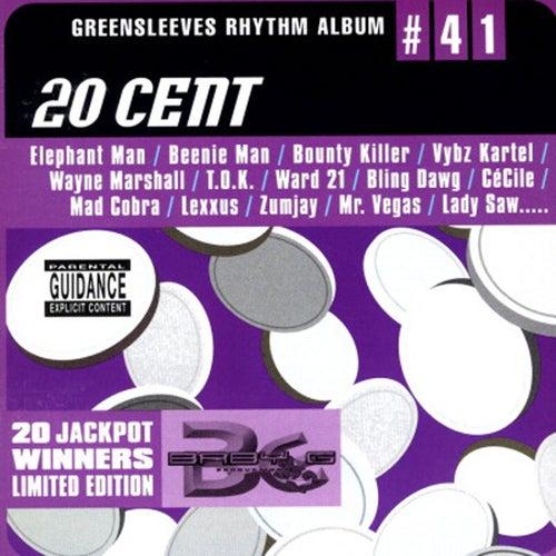 Greensleeves Rhythm Album #41: 20 Cent